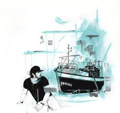 """Kalkbay Dreamer"" - Jan Henning The Dreamers, My Arts, Anime, Anime Music, Anima And Animus, Anime Shows"