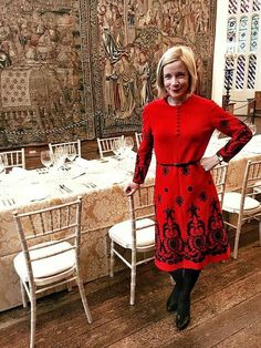 The Drop-Dead Gorgeous Lucy Worsley.