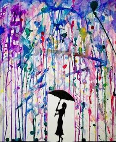 have you ever feel what is color rain taste like?