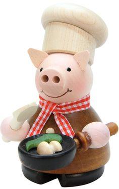 Christian Ulbricht Lucky Pig Chef Incense Burner