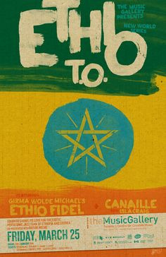"""ethio fidel - """"Here's something I bet you've never heard before (unless you heard them at the Gladstone)"""" Gladstone, Gallery, Music, Culture, Poster, Design, Beautiful, Art, Musica"""