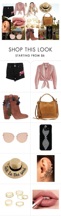 """""""A Festival"""" by plozoya on Polyvore featuring moda, Boohoo, River Island, Strategia, Urban Expressions, Topshop, Samsung y Charlotte Russe"""
