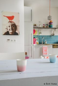 Going Dutch with white and splashes of colour