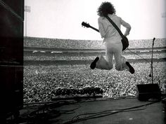 jimmy page live black and white