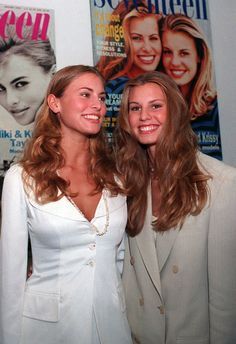 Niki Taylor with her little sister Krissy Taylor