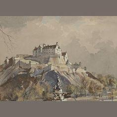 Rowland Hilder (British, 1905-1993) Edinburgh Castle