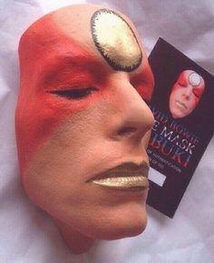David Bowie Life Mask 'Kabuki' by Nicholas Boxall. David Bowie Art, The Thin White Duke, Art
