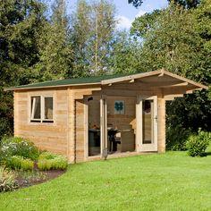 Garden Sheds Rutherglen 4 x 4m rutherglen 34mm log cabin | dwell | pinterest | log cabins