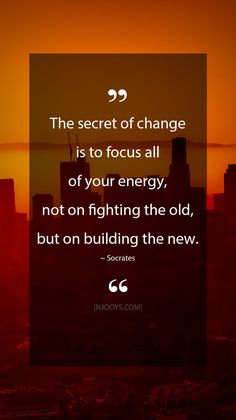 Change Your Life. Focus Quotes, Quotes To Live By, Positive Quotes, Motivational Quotes, Life Quotes, Inspirational Quotes, Socrates Quotes, Gandhi Quotes, Live Your Life