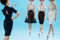 Creations by fashion designer Byron Lars, who dresses first lady Michelle Obama Byron Lars, Pretty Outfits, Pretty Clothes, Michelle Obama, Dress First, Rihanna, Ballet Skirt, Feminine, Stylish