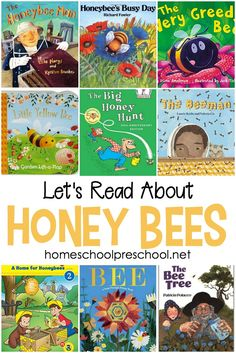 15 of Our Favorite Children's Picture Books About Bees Spring has sprung! Celebrate spring with a basket full of picture books about bees! Here are 15 of our favorites to get you started. Preschool Books, Book Activities, Preschool Activities, Montessori Kindergarten, Preschool Plans, Preschool Pictures, Science Books, Toddler Books, Childrens Books