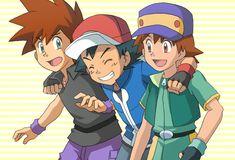 3 Kanto Trainer by on DeviantArt Pokemon Photo, Ash Pokemon, Pokemon Ships, Pokemon Comics, Cool Pokemon, Pokemon Ash Ketchum, Green Pokemon, Ash And Misty, Pokemon Ash And Serena