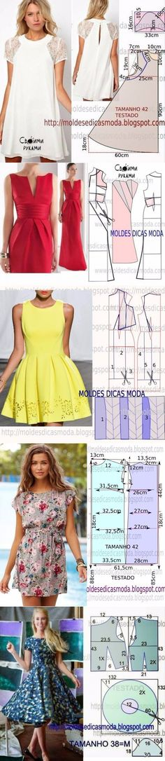 Pattern Making Fundamentals: Dart manipulation and pivot points (VIDEO) Diy Clothing, Sewing Clothes, Dress Sewing Patterns, Clothing Patterns, Diy Vetement, Diy Fashion, Fashion Design, Diy Dress, Sewing Techniques