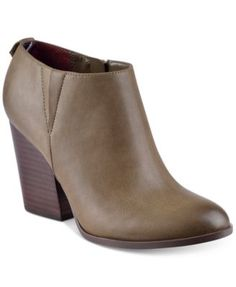 TOMMY HILFIGER Tommy Hilfiger Leslee2 Ankle Booties. #tommyhilfiger #shoes # all women