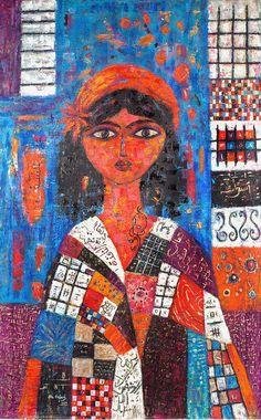 Untitled (2010) - Saudi Artist OLA HEJAZI Inspired by the Poet Zahi Wehbi