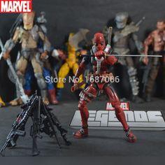 Grátis frete Marvel legends 2013 X FORCE 6 polegadas cinza e vermelho Deadpool paternidade nova caixa de divisão peças genuínas 18 cm 2 estilo em Ação e personagens de Brinquedos & Lazer no AliExpress.com | Alibaba Group