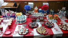 Dr. Seuss dessert table