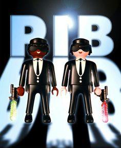 """""""Playmobil in Black"""" Richard Unglik in exhibit at Bobo Kids London"""