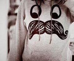 I really want a big sweatshirt right now