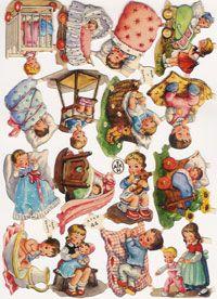 afkh Retro Images, Vintage Images, Vintage Cards, Vintage Postcards, Printable Pictures, Printable Art, Christmas Decals, Love Is Comic, Die Cut
