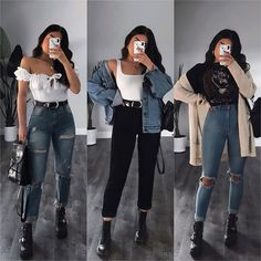 Which item would you add to your shopping list today? Cute Simple Outfits, Basic Outfits, Retro Outfits, Classy Outfits, Stylish Outfits, Beautiful Outfits, Cute Outfits, Teenage Outfits, Winter Fashion Outfits