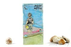 Joanna: Sandy Toes Sandy Toes, Indigo Blue, I Card, Heart Shapes, Seaside, Stamps, Crafty, Stone, Beach
