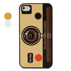 Polaroid Land Camera Pattern Protective Case for iPhone 4 and 4S (Assorted Colors)