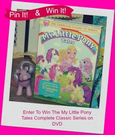 NEW ‪#‎GIVEAWAY‬: My Little Pony Tales The Complete Classic Series DVD Will Be Released April 28th! Pre-order Now! Plus Enter To ‪#‎Win‬ Your Own Copy from @shoutfactory
