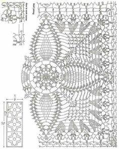aquare pineapple crochet miotif | Pineapple square!