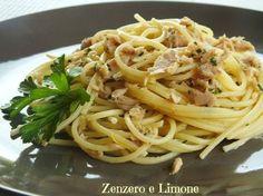 SPAGHETTI TONNO e LIMONE |Tuna and lemon spaghetti | Calling all conscious foodies @ foodiehaven.com