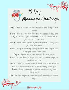 10 Day Marriage Challenge
