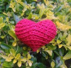 Crochet 3D heart (coração de crochê em 3D)