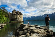 Chateu De Chillion, Montreux, Switzerland