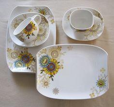 Silber+Rosen: Tee zur Kräuterweihe / Tea table for Herb Blessing