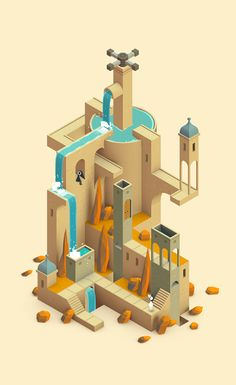 monument valley game - Buscar con Google                                                                                                                                                     Mehr