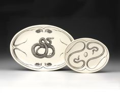 Spice up your home with these Laura Zindel snake platters