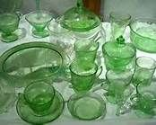 Green Depression Glass - Bing Images