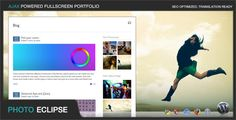 See More PhotoEclipse - Ajax Powered Portfolio WP ThemeIn our offer link above you will see
