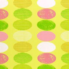 canonbury - lime fabric   Desigenrs Guild Kids