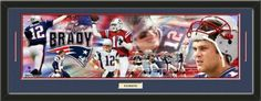 New England Patriots Tom Brady Photoramic Composite Photo Collage Framed With Team Color Double Matting & A Name Plaque-Awesome & Beautiful-Must For Any Fan! Art and More, Davenport, IA http://www.amazon.com/dp/B00HMJQWH2/ref=cm_sw_r_pi_dp_Dj8Eub16PN6E3
