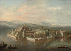 CIRCLE OF ANTONIO JOLI (MODENA C. 1700-1777 NAPLES) THE ISOLA BELLA, LAKE MAGGIORE