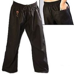 Pants 179772: New - Proforce Gladiator 8Oz Combat Karate Pants - Black Size 5 BUY IT NOW ONLY: $34.59
