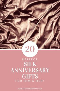 Looking for a 4th year anniversary gift? Weve rounded up 20 perfect silk anniversary gifts for him & her! #Silk #4thanniversary #fouthanniversary #anniversarygift #4thanniversarygift #4thanniversarygifts #4thanniversarygiftideas #4thanniversarygiftsforher #4thanniversarygiftsforhim