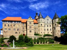 Bertholdsburg Castle ~ Schleusingen ~ Thuringian Forest ~ Thuringia ~ Germany