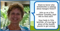 Still time to register for tomorrow's Kangen Alkaline Water Webinar!!! Click on the link and make sure you select 3:00 pm OR 8:00 pm Eastern https://attendee.gotowebinar.com/rt/3978754709668527106 - See more at: http://rhondagessner.com/webinar/#sthash.hokKCZui.dpuf