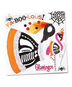 Loving this Glamingo Halloween Costume Magnet Sheet on #zulily! #zulilyfinds