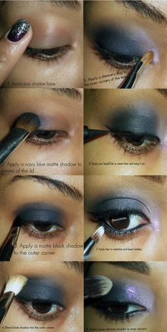Beauty By Lee: How to: Smokey eye with a dash of sparkle