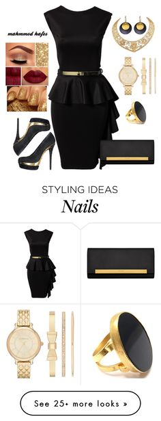 """mahmmod"" by mahmmodhafes on Polyvore featuring Honor Gold, Sephora Collection, Rodo, Obscur, Liz Claiborne, Yves Saint Laurent, Hissia, Yossi Harari, women's clothing and women"