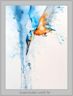 52 ideas for painting watercolor birds artists Watercolor Paintings For Beginners, Watercolor Art Paintings, Abstract Watercolor, Animal Paintings, Watercolor Tattoos, Watercolour, Bird Painting Acrylic, Bird Artists, Wildlife Art