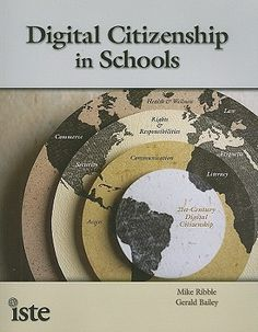 """Read """"Digital Citizenship in Schools, Edition"""" by Mike Ribble available from Rakuten Kobo. Updated to reflect the refreshed NETSS, this bestselling ISTE book is a must for all educators as they lead students thr. Social Media Etiquette, Elementary Counseling, Career Counseling, Elementary Schools, Rights And Responsibilities, Good Citizen, Digital Literacy, Digital Citizenship, Fiction And Nonfiction"""